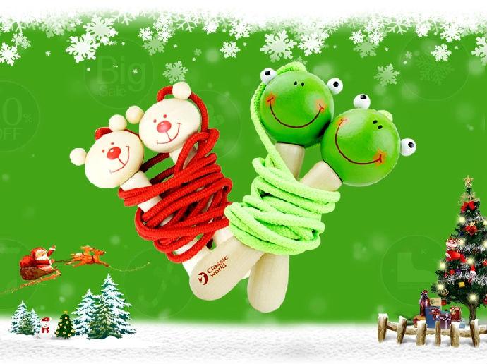 德国正品可来赛卡通动物儿童跳绳幼儿园专业小学生跳绳