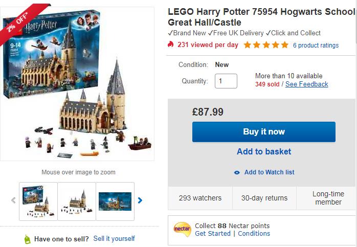 eBay英国站公布圣诞节玩具TOP清单