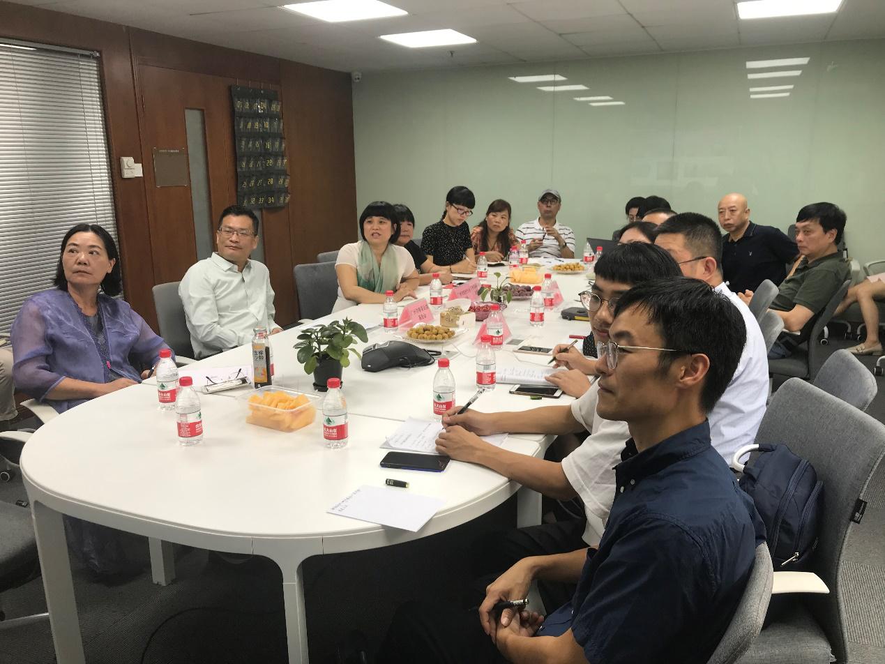 协会秘书处赴广州市行业协会商会参访交流